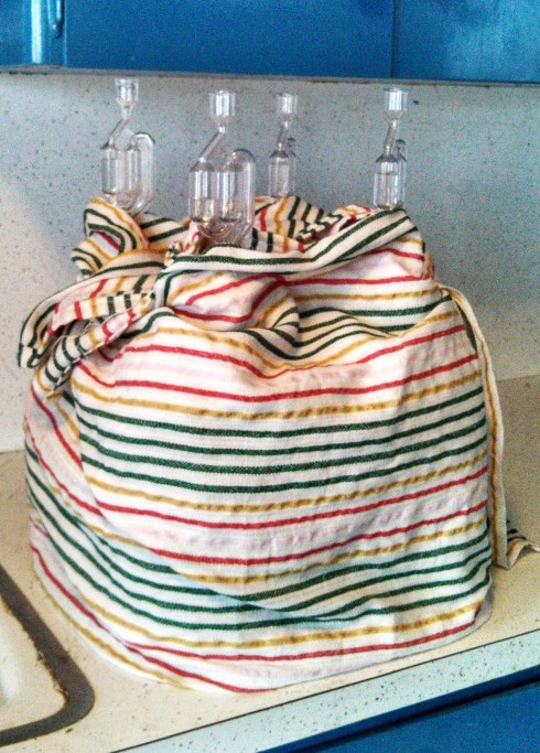 Wrapped Jugs